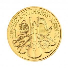 Filharmonicy Wiedeńscy 1/4 oz. - Złota moneta bulionowa 2020