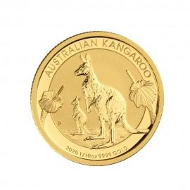 Kangaroo 1/10 oz A$ 15 - Złota moneta bulionowa 2020