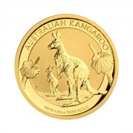 Kangaroo 1/4 oz A$ 25 - Złota moneta bulionowa 2020