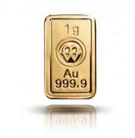Sztabka złota - Sztabka Au 1g