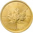 Liść Klonowy 1/2 oz. 20 dolarów kanadyjskich - Złota moneta bulionowa Maple Leaf